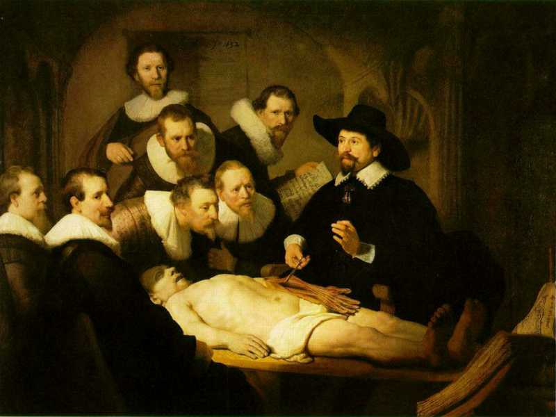 Rembrandt, The Anatomy Lecture of Dr. Nicolaes Tulp [1632]
